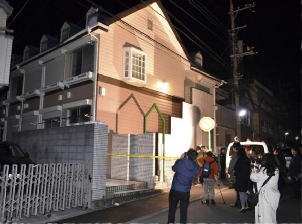 神奈川県座間市緑ケ丘6丁目の9人死体遺棄事件、白石隆浩容疑者!アパートの写真1