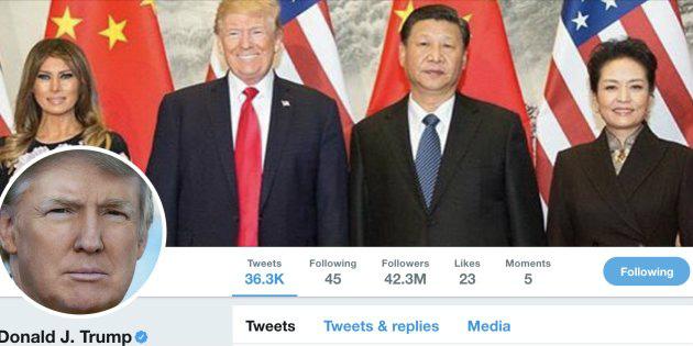 トランプ大統領が中国でTwitter規制のなかツイートした件!