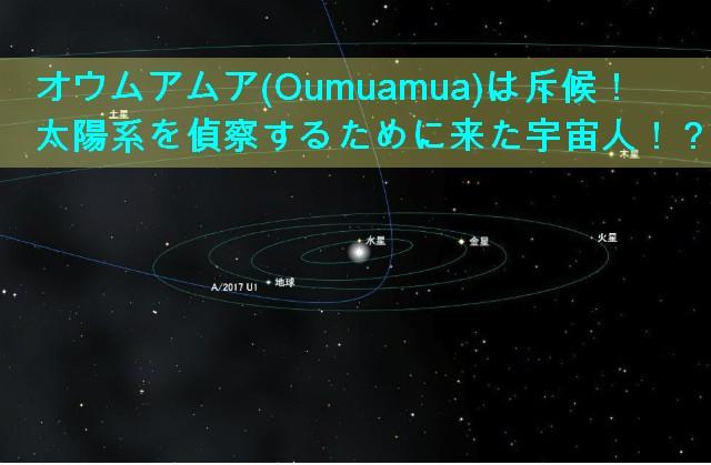 オウムアムア(Oumuamua)と名称改められた「1I/2017U1」恒星館天体!