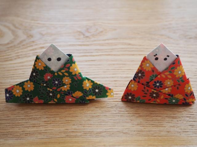 ひな祭りで人気の折り紙の作り方